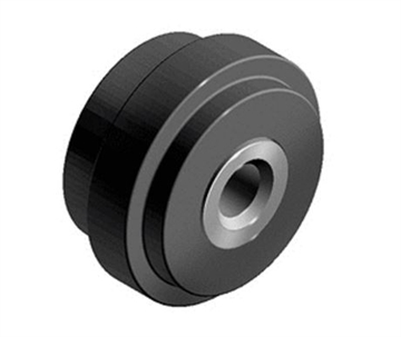 Styrerulle Ø29 mm for 6 mm spor